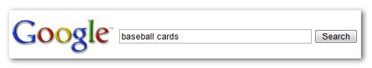 Αναζήτηση για baseball cards