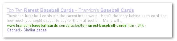 ένα πιο σωστό URL, σχηματισμένο από λέξεις