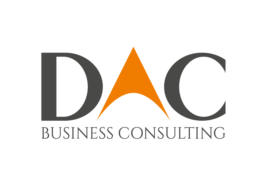 Dac business consulting logo design and corporate identity for Consulting logo